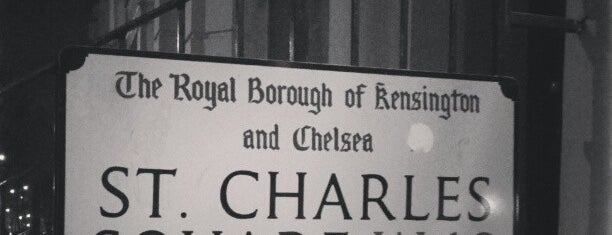 St. Charles Square is one of London's Neighbourhoods & Boroughs.