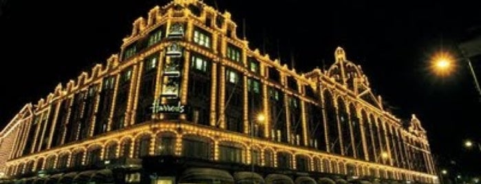 Harrods is one of Where, When & Who List-1!.