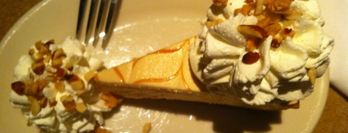 The Cheesecake Factory is one of Where, When & Who List-1!.