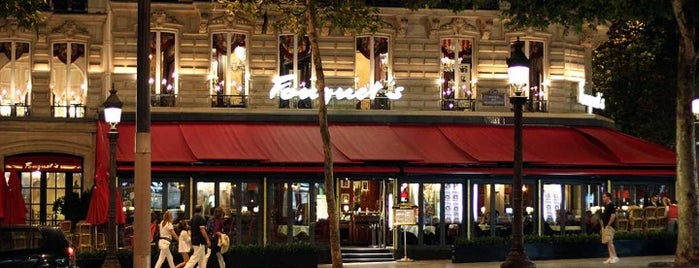 Le Fouquet's is one of Paris.