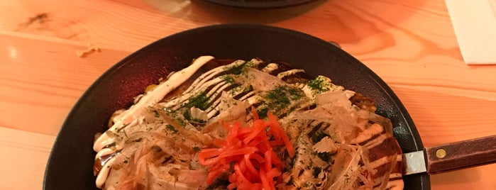 Harapeco Japanese Kitchen - Okonomiyaki is one of Kimiさんのお気に入りスポット.