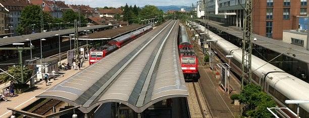 Freiburg (Breisgau) Hauptbahnhof is one of Freiburg.