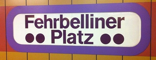 U Fehrbelliner Platz is one of U & S Bahnen Berlin by. RayJay.