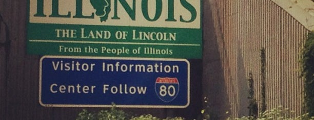 Illinois/Indiana State Line is one of Posti che sono piaciuti a Matt.