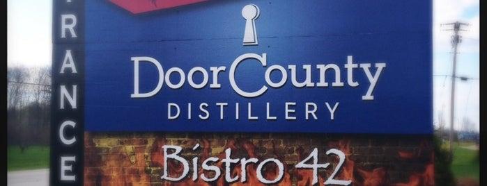 Door County Distillery is one of Door County Destinations.
