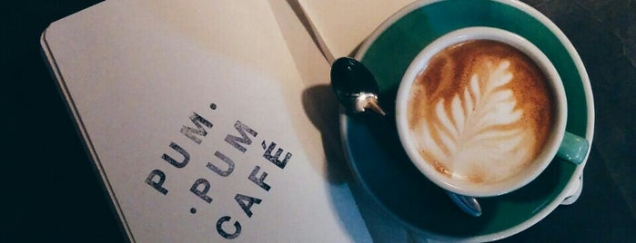 PUM PUM CAFÉ is one of Third wave/specialty coffee in Madrid.