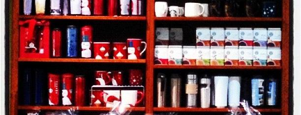 Starbucks is one of Места, где неплохо работается.