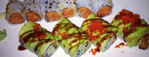 Sanma Japanese Restaurant is one of Only sushi spotz worth going to.