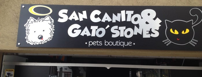 San Canito & Gato´Stones is one of Locais curtidos por Vicky Nito.