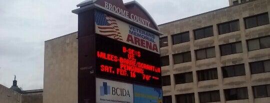 Floyd L Maines Veterans Memorial Arena is one of ballin....