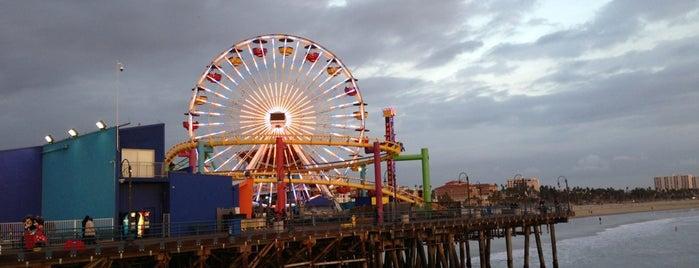 산타 모니카 해변 is one of LAX.