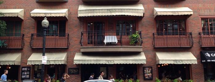 Tresca is one of Boston: International.