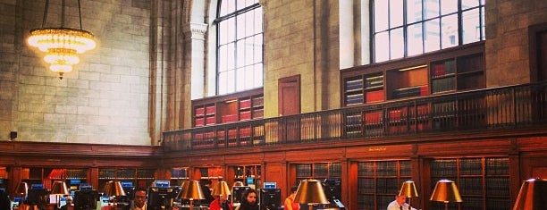 New York Public Library is one of #myhints4NewYorkCity.