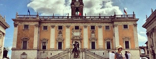Piazza del Campidoglio is one of Rome.