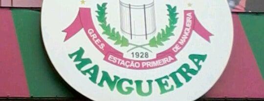 G.R.E.S. Estação Primeira de Mangueira is one of Igor'un Beğendiği Mekanlar.
