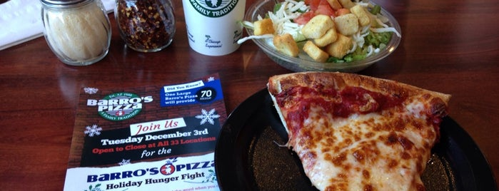 Barro's Pizza is one of To Try.