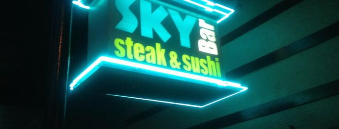 Sky Bar Steak & Sushi is one of Galveston.