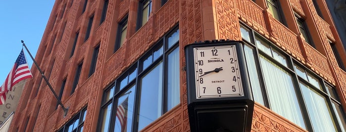 Shinola Hotel is one of Detroit.