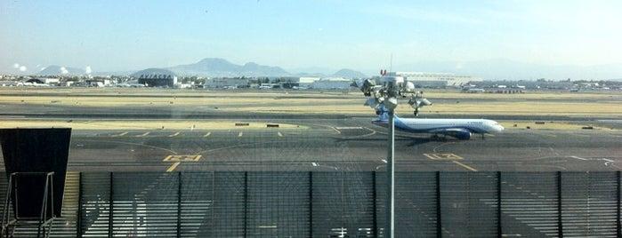 Aeropuerto Internacional de la Ciudad de México (MEX) is one of Airports.