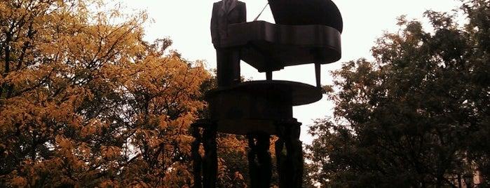 Duke Ellington Memorial by Robert Graham is one of Monuments.