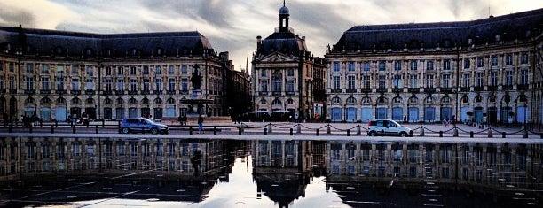 Miroir d'Eau is one of Jas' favorite urban sites.