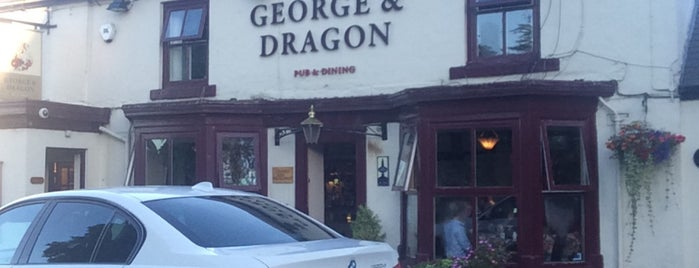 George and Dragon is one of Lieux qui ont plu à Carl.