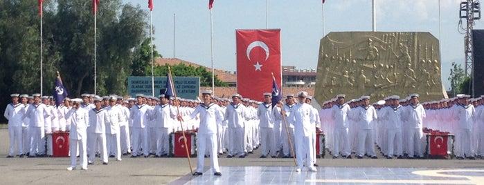 1. Deniz Komutanlığı Er Eğitim Alayı is one of Sehirler.