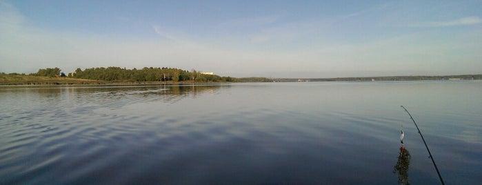 Озеро Сенеж is one of Russia10.