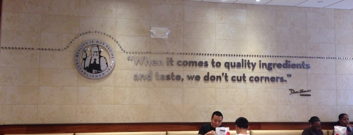 Wendy's is one of Usual spots.