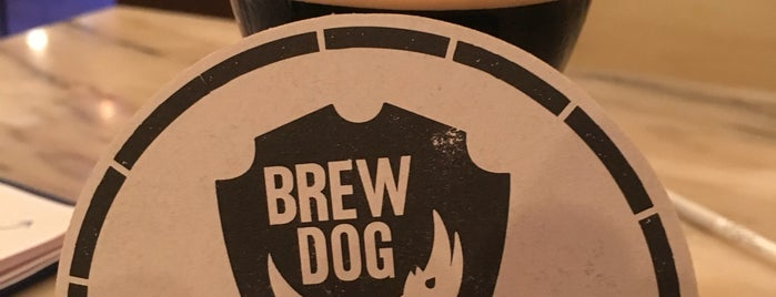 BrewDog Barcelona is one of Lieux qui ont plu à MustanG.