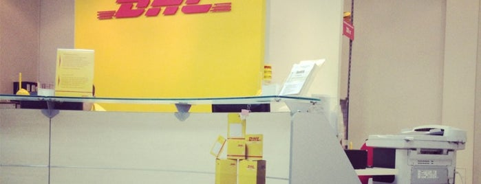 DHL is one of Lugares favoritos de Jano.