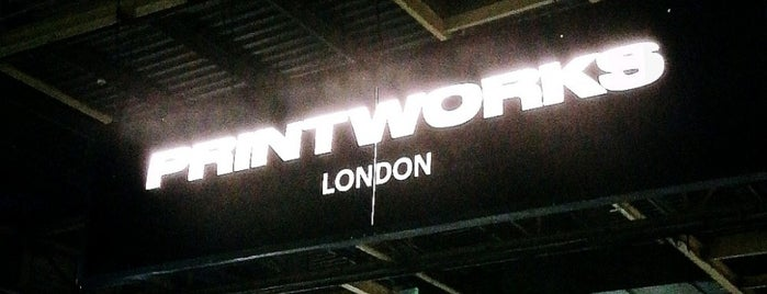 The Printworks is one of TODO.