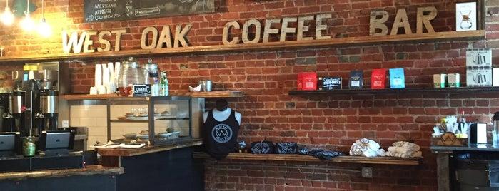 West Oak Coffee Bar is one of Denton.