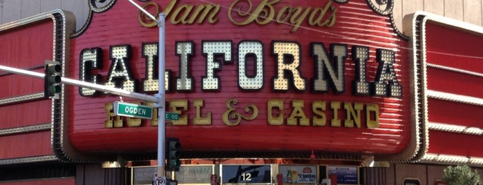 California Hotel & Casino is one of Lugares favoritos de David.