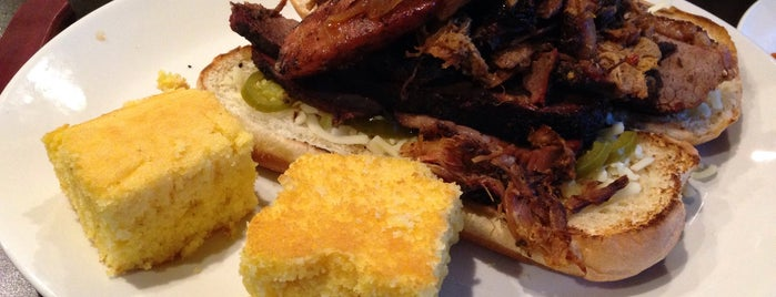 Big T's BBQ and Smokehouse is one of Connor's Liked Places.