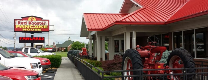 Red Rooster Pancake House is one of Pigeon forge.