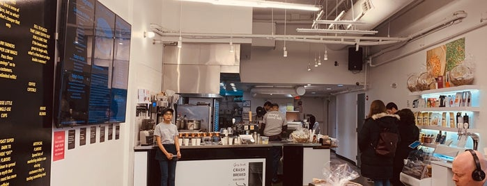 Clover Food Lab DTX is one of Vegetarian Restaurants.