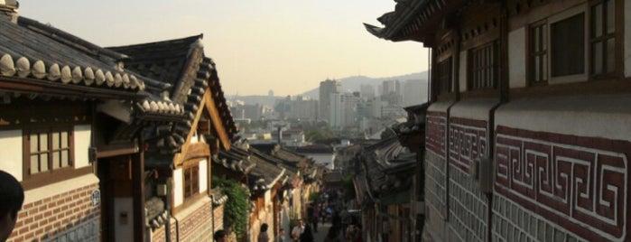 Bukchon Hanok Village is one of [To-do] Korea.