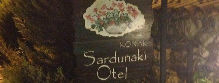 Sardunaki Hotel is one of Küçük ve Butik Oteller Türkiye.