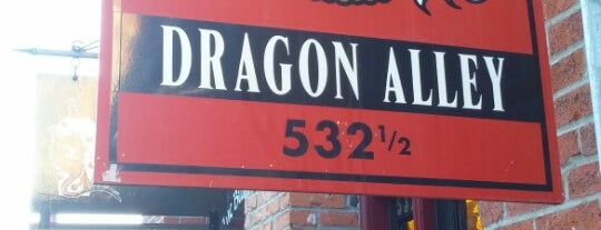 Dragon Alley is one of Victoria, B.C., Canada.