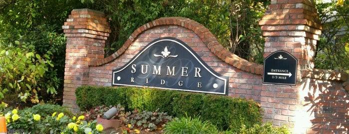 Summer Ridge Neighborhood is one of Locais curtidos por Philip.