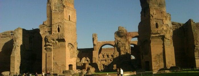 Termas de Caracalla is one of Supova in Roma.