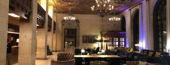 Hotel Dupont Bar is one of Do: Wilmington ☑️.