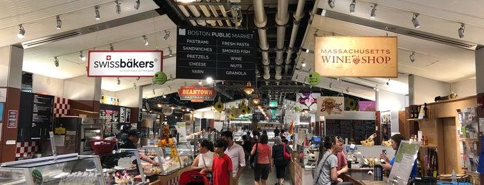 Boston Public Market is one of Boston 2018.