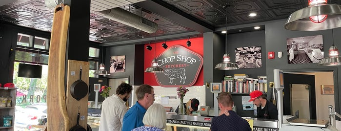 The Chop Shop Butchery is one of Asheville.