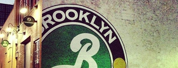 Brooklyn Brewery is one of BK.