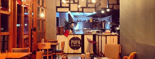Pupa Burger is one of Gurm.me den tavsiyeler.