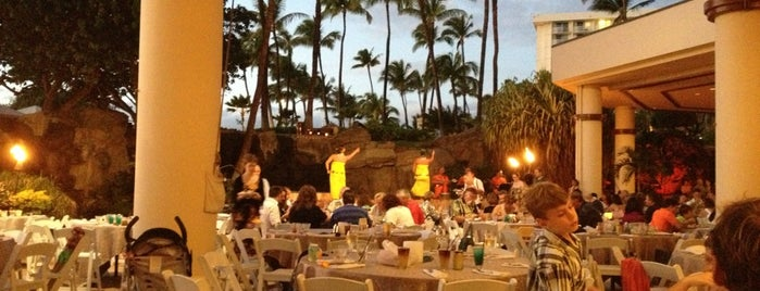 Wailele Polynesian Luau is one of Maui.