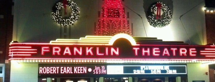 The Franklin Theatre is one of Tempat yang Disukai Colin.
