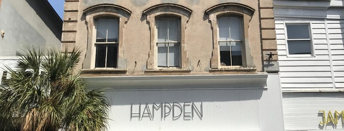 Hampden is one of Charleston Insiders Tell All.